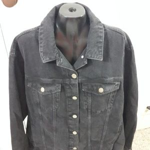 ASOS Black Denim Jacket 16